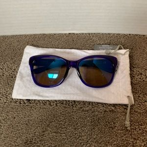 SMITH SIDNEY purple sunglasses